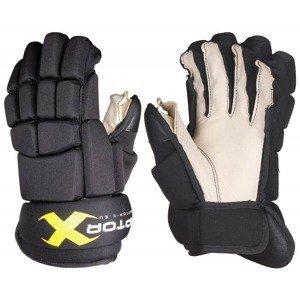 """Hokejové rukavice YTH barva: černá;délka: 8"""""""