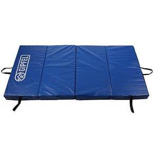 Crash-Mat skládací gymnastická žíněnka modrá