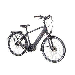 """Mestský elektrobicykel Devron 28427 28"""" 4.0 Farba Black, Veľkosť rámu 19,5"""""""