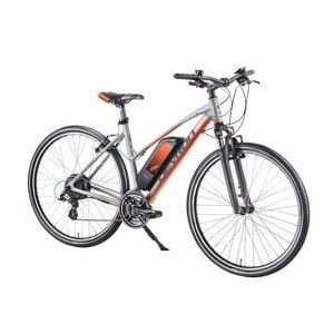 """Dámsky crossový elektrobicykel Devron 28162 28"""" 4.0 Farba Silver, Veľkosť rámu 19,5"""""""
