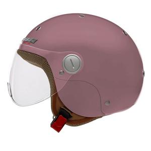 Moto prilba NOX N217K s 3 veľkosťami výstelky Farba ružová, Veľkosť 3XS, 2XS, XS (48-53)