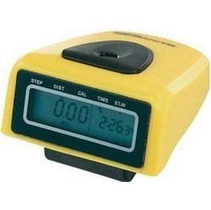 Krokoměr Junso 300B digitální - žlutá