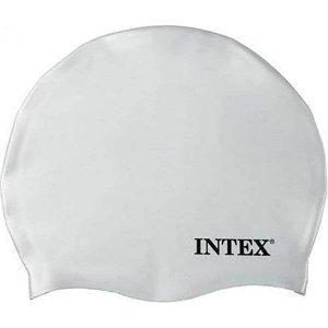 Koupací čepice Intex Silicon bílá - Bílá
