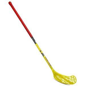 Florbal hůl HUNTER 95 cm Sedco pravá oranžovo/žlutá