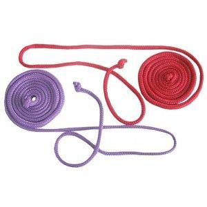Gymnastické švihadlo 3,1 m - Červená