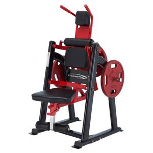 Posilňovač brušných svalov Steelflex Plateload Line PLAC Farba čierno-červená