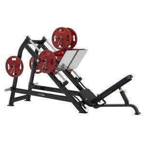 Leg Press Steelflex Plateload Line PLDP Farba čierno-červená