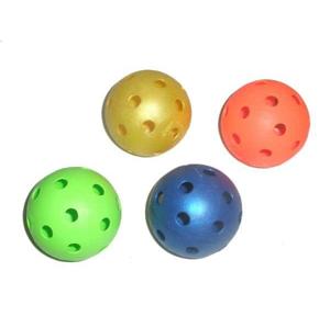 Florbalový míček UNIHOC barevný - modrá