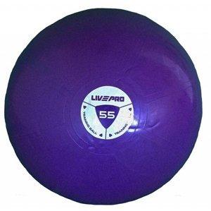 Míč gymball LivePro STUDIO FIT EXERCISE 55 cm - 55 cm fialový