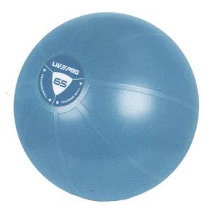 Míč gymball LivePro STUDIO FIT EXERCISE 65 cm - 65 cm modrý