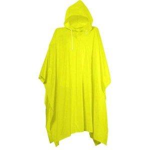 Pláštěnka PONCHO PVC silná - Žlutá