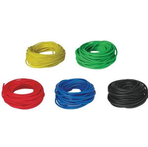 BAND TUBING - Odporová posilovací guma - LATEX FREE - 1 m - Červená
