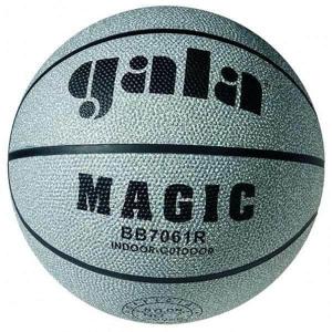 Míč basket MAGIC 7061R - šedý