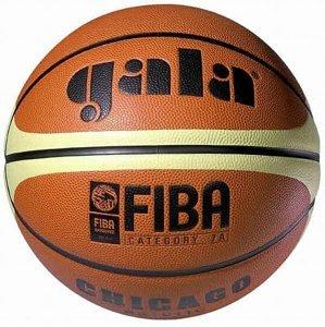 Míč basket GALA CHICAGO BB6011C vel.6 - hnědý