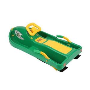 Boby řiditelné Snow Boat PLASTKON 93 x 44 x 35 cm - Zelená