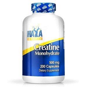 Haya Labs Sports Creatine Monohydrate 500mg Hmotnost: 200 kapslí