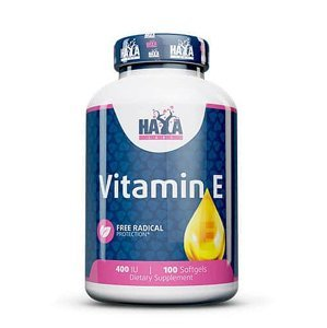 Haya Labs Vitamin E 400 IU Hmotnost: 100 kapslí