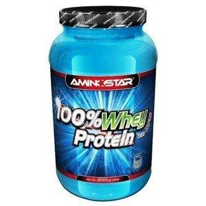 Aminostar 100% Whey Protein Příchuť: Strawberry, Balení(g): 2000g