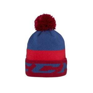 Čiapka S Brmbolcom Ccm Pom Knit With Fleece Lining Triathlon Red