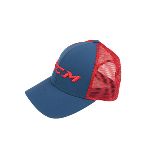 Ccm Mesh Back Trucker Ensign Blue