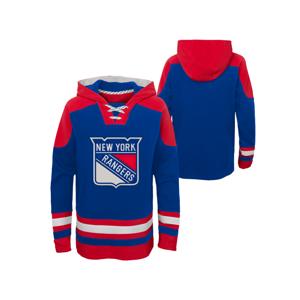 Detská Hokejová Mikina S Kapucňou Outerstuff Nhl New York Rangers