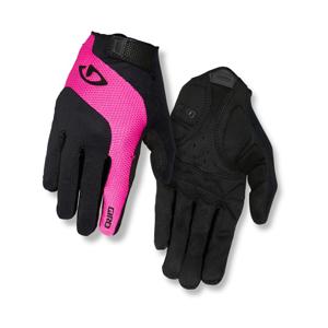 Dámske Cyklistické Rukavice Giro Tessa Lf Čierno-Ružové