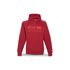 Mikina Ccm Heritage Logo Fleece Hoodie