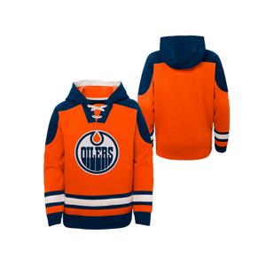 Detská Hokejová Mikina S Kapucňou Outerstuff Ageless Must Have Nhl Edmonton Oilers