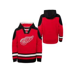 Detská Hokejová Mikina S Kapucňou Outerstuff Ageless Must Have Nhl Detroit Red Wings