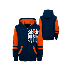 Detská Mikina S Kapucňou Outerstuff Face-Off Nhl Edmonton Oilers