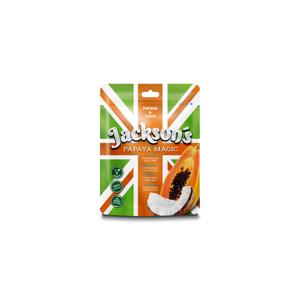 Sušený Papayový Snack S Kokosovými Chipsy Jackson´S Papaya Magic 50 G