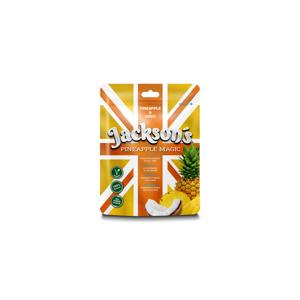 Sušený Ananásový Snack S Kokosovými Chipsy Jackson´S Pineapple Magic 50 G