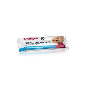 Cereálna Tyčinka Sponser Cereal Energy Plus Bar Brusnica 40 G