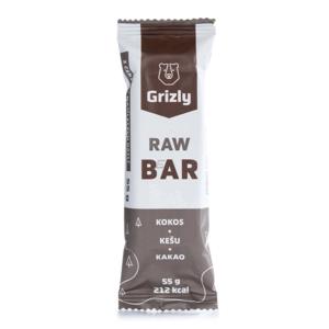 Raw Tyčinka Grizly Kokos - Kešu - Kakao 55 G