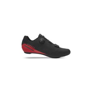 Cyklistické Tretry Giro Cadet Black/Bright Red