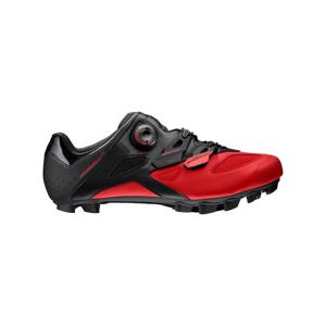 Cyklistické Tretry Mavic Crossmax Elite Black-Fiery Red
