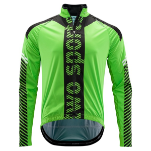 Pánská Cyklistická Bunda Silvini Parina Green-Black
