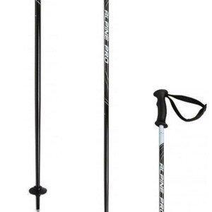 Zjazdové palice V3TEC Alpine Pro Čierna 75 cm