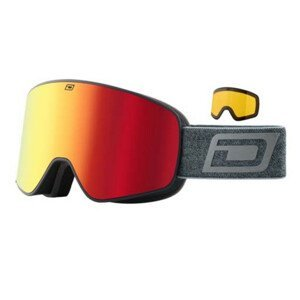 Lyžiarske okuliare DIRTY DOG Mutant Legacy 0.5 Grey/Red Sivá