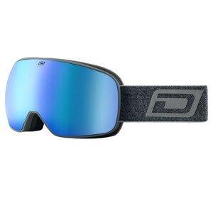 Lyžiarske okuliare DIRTY DOG Google Streif Matte Grey/Blue Sivá