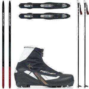 Dámsky bežkový set SPORTEN Perun Pro Skin W so stúpacím pásom + viazanie + topánky + palice