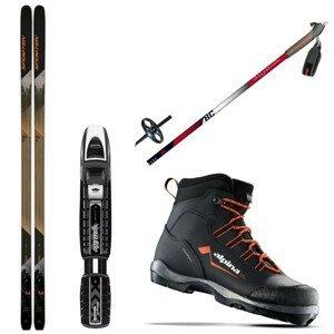 Backcountry set SPORTEN Explorer SKIN(stúpací pás) + obuv + palice 175 cm 47 60 - 70 kg