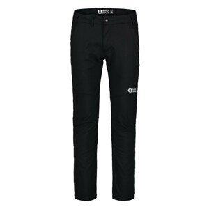 Softshellové nohavice NORDBLANC Stabilize Black Čierna XXL
