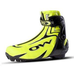 Topánky na bežky ONE WAY Premio 10 Skate - SNS Pilot Žltá 42