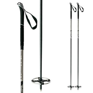 Backcountry palice na bežky ITALBASTONI BC Nordic Black Čierna 135 cm