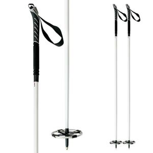 Backcountry palice na bežky ITALBASTONI BC White Čierna 125 cm