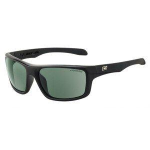 Slnečné okuliare DIRTY DOG Axle Black/Green Polarised Čierna