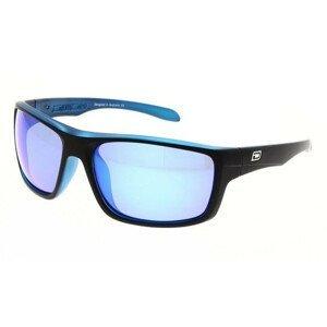 Slnečné okuliare DIRTY DOG Axle Satin Black/Blue Polarised Čierna