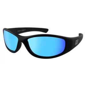 Slnečné okuliare DIRTY DOG Boofer Satin Black Gray/Ice Blue Polarised Čierna