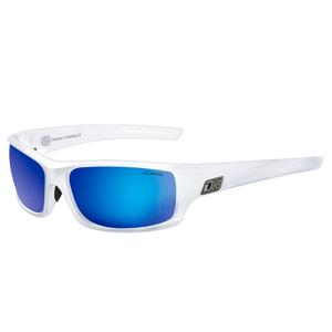 Slnečné okuliare DIRTY DOG Clank White Gray/Blue Fusion Polarised Biela